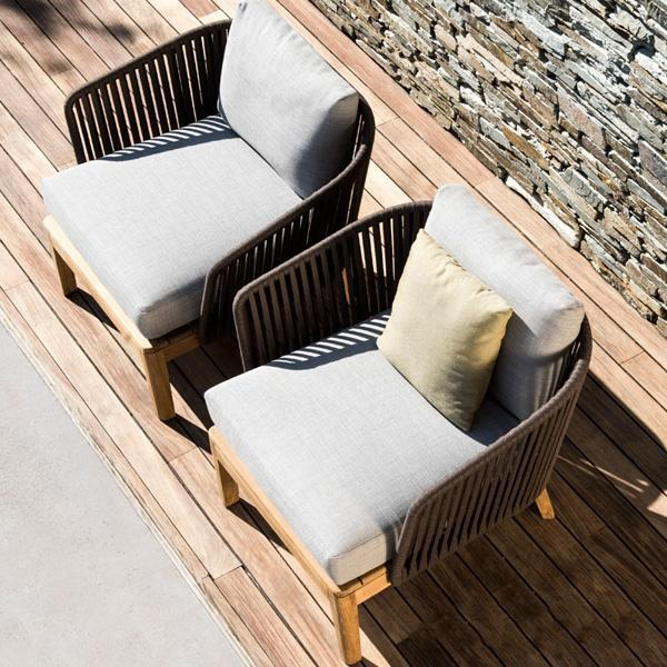 Outdoor Braided & Rope Sofa - Blessy