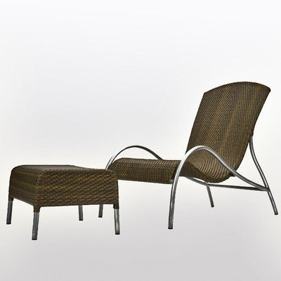 Outdoor Furniture - Wicker Easy Chair - Okhotsk