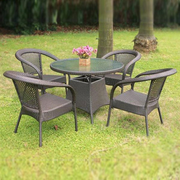 Wicker Garden Set - Ecolite Beta