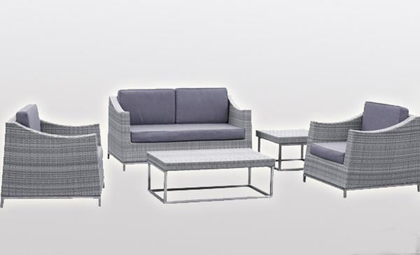 Outdoor Furniture - Wicker Sofa - Vancouver