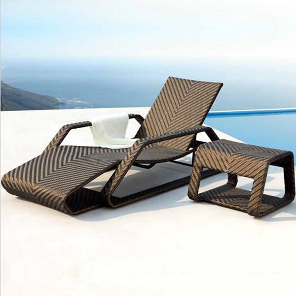 Outdoor Furniture - Sun Lounger - Brighton