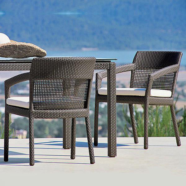 Outdoor Wicker - Stackable Set - Muskat