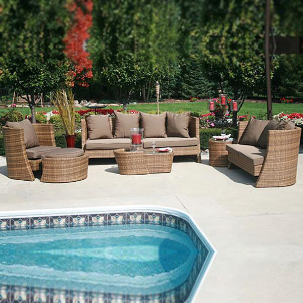Outdoor Furniture - Wicker Sofa - Jewel