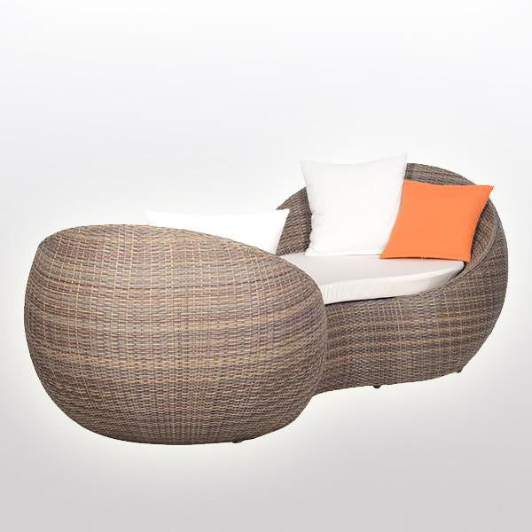 Outdoor Wicker Couch - AdamNEve