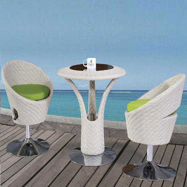 Outdoor Furniture - Wicker Bar Set - Seattle