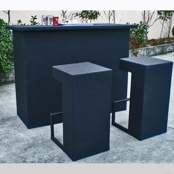 Outdoor Wicker Bar Set - Club
