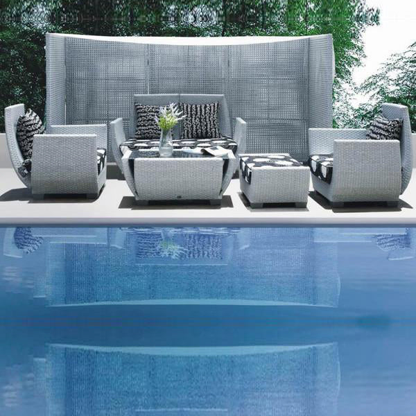 Outdoor Furniture - Wicker Sofa - Alps