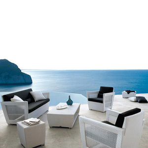 Outdoor Furniture - Wicker Sofa - Hudson