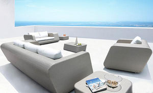 Outdoor Furniture - Wicker Sofa - Chicago