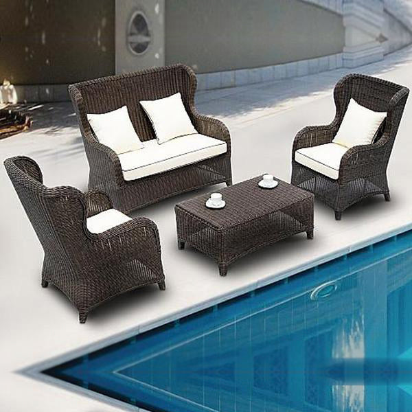 Outdoor Furniture - Wicker Sofa - Princely