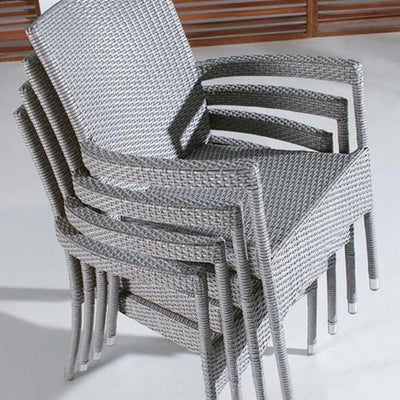 Outdoor Furniture - Wicker Garden Chairs Spartan#8