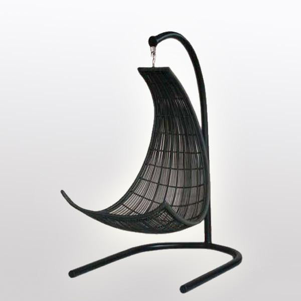 Outdoor Wicker - Swing With Stand - Equator