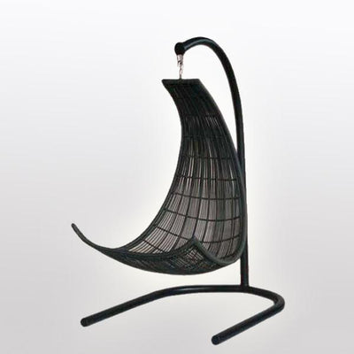 Outdoor Wicker Two Seater - Swing With Stand - Equator