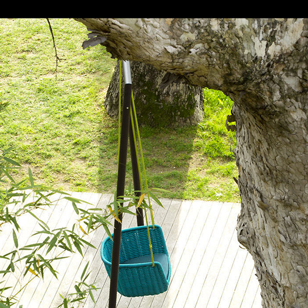 Outdoor Braided & Rope Swing - Angel