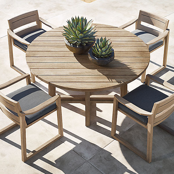 Outdoor Wood - Dining Set - Granadillo
