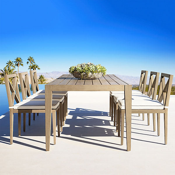 Outdoor Wood - Dining Set - Purple Heart