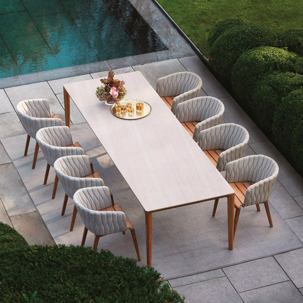 Fully Upholstered Outdoor Furniture - Coffee Set - Blessy-Max