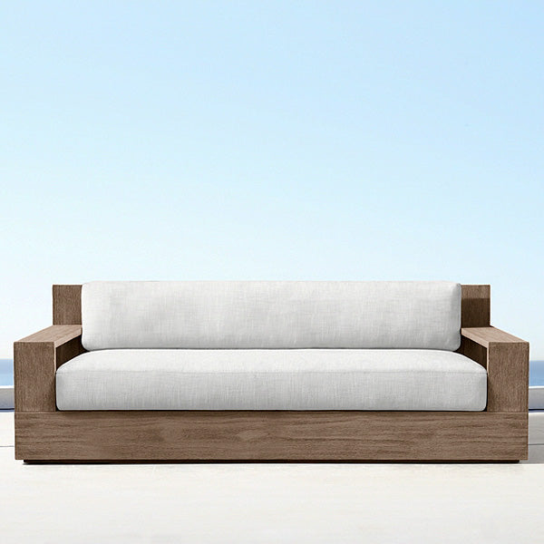 Outdoor Wood - Sofa Set - Lumber