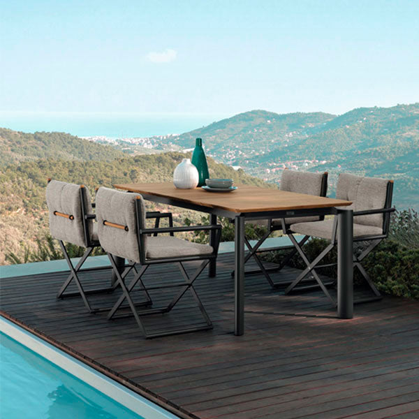 Fully Upholstered Outdoor Furniture - Coffee -Set - Canne