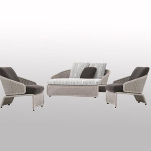 Outdoor Braided & Rope Sofa - Baroque Next
