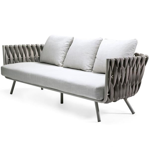 Outdoor Braided & Rope Sofa - Birilyant