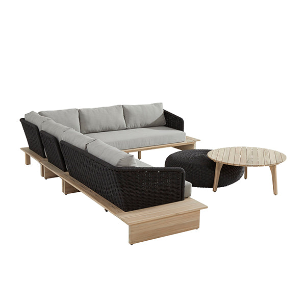 Outdoor-furniture-braid-braided-wooden-sofa-set-Dot in india