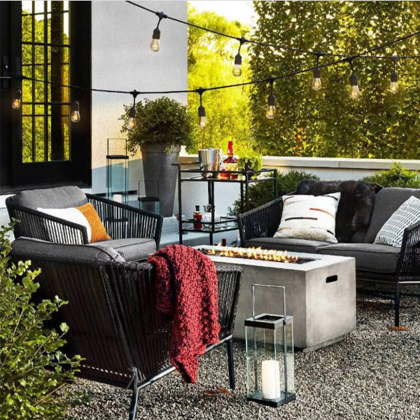 Outdoor-furniture-braid-braided-sofa-set-Glide in india