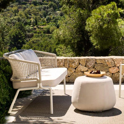 Outdoor Braided & Rope Sofa - Perafic