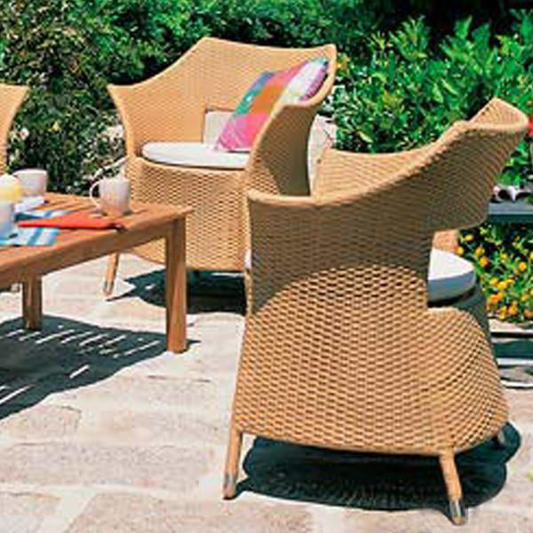 Outdoor Wicker Garden Set - Choco