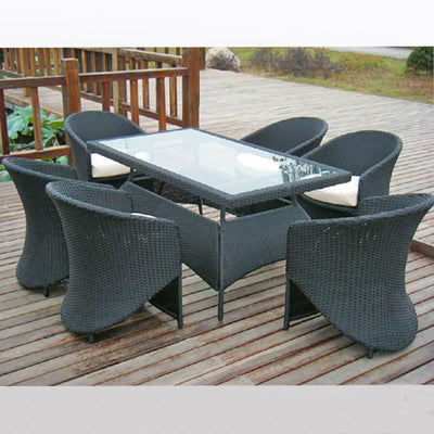 Outdoor Wicker Garden Set - Board Meet