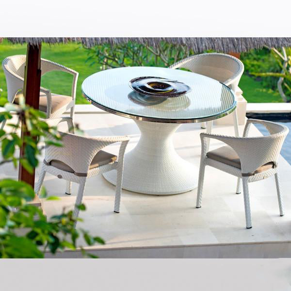 Outdoor Wicker Garden Set - Romantic Circle