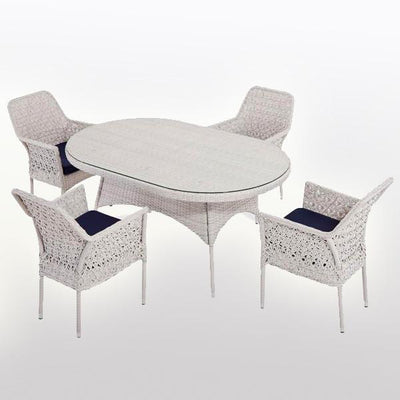 Outdoor Wicker Garden Set - Orbit