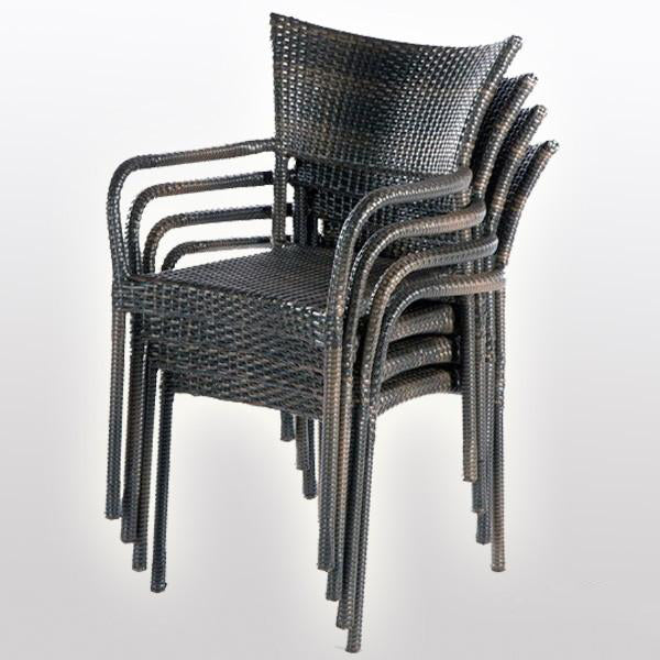 Outdoor Wicker Garden Chairs Spartan#2