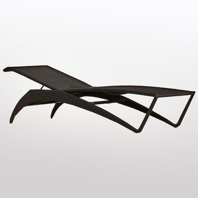 Outdoor Wicker Sun Lounger - Lay Down