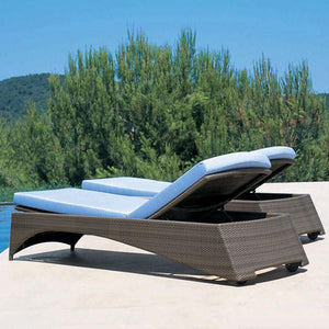 Outdoor Wicker Sun Lounger - Tropic