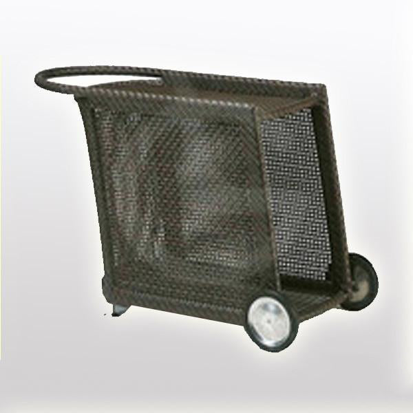 Outdoor Wicker Serving Trolley- Cuba