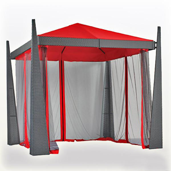 Outdoor Wicker Cabana & Gazebo - Revolution