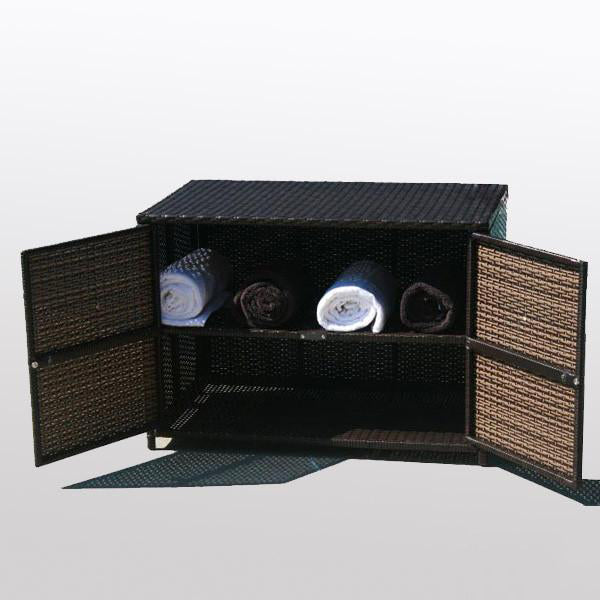 Outdoor Wicker Cabinet - Ocean