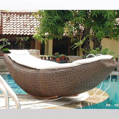 Outdoor Wicker Rocking Day Bed - Polo