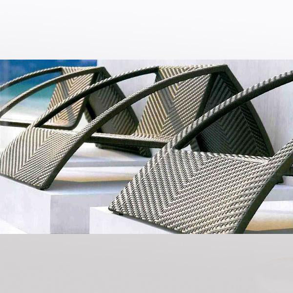 Outdoor Wicker Easy Lazy Chair - Star