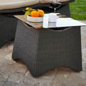 Outdoor Wicker Easy Lazy Chair - Curve
