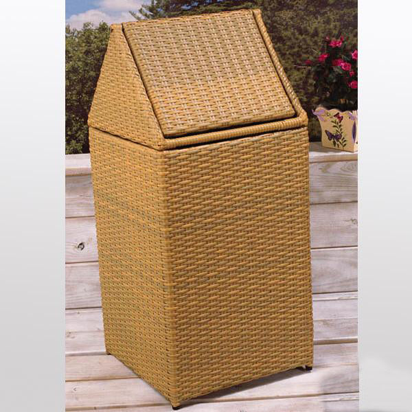 Outdoor Wicker Laundry Basket - Hut
