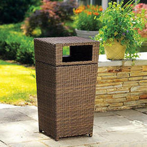 Outdoor Wicker Laundry Basket - Star