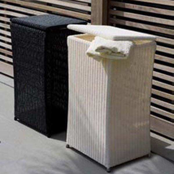 Outdoor Wicker Laundry Basket - Mordern