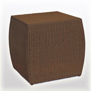 Outdoor Wicker Ottoman - Zoya