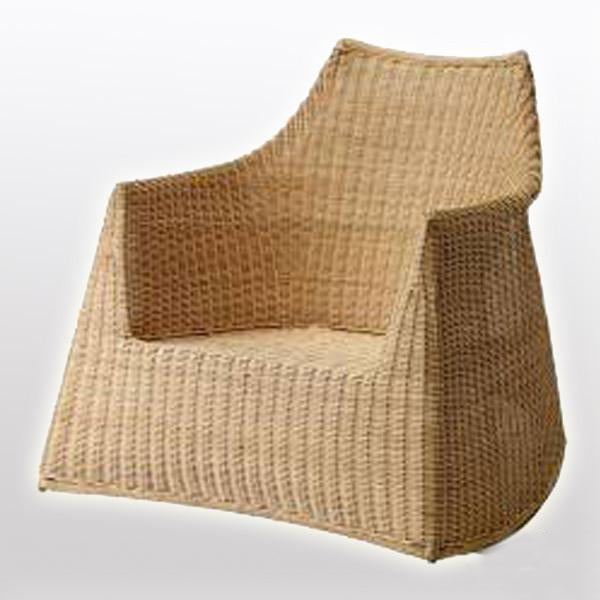 Outdoor Wicker Rocker - Top