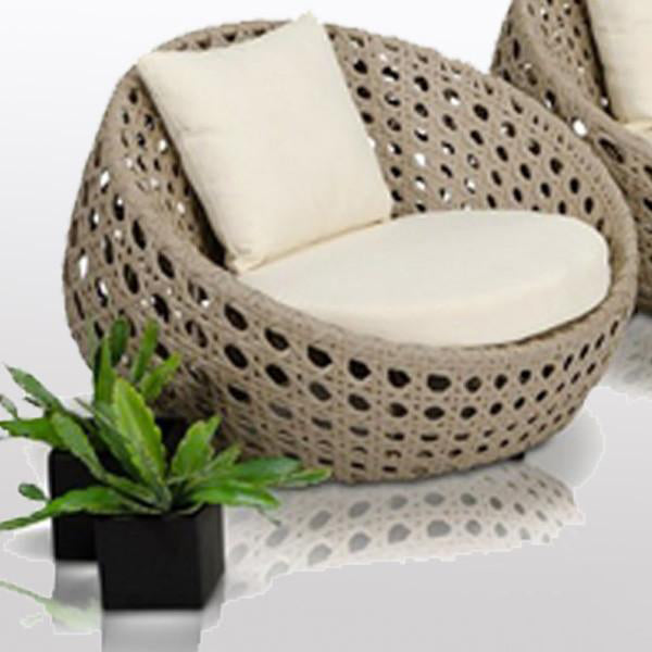 Outdoor Wicker - Sofa Set - Apple