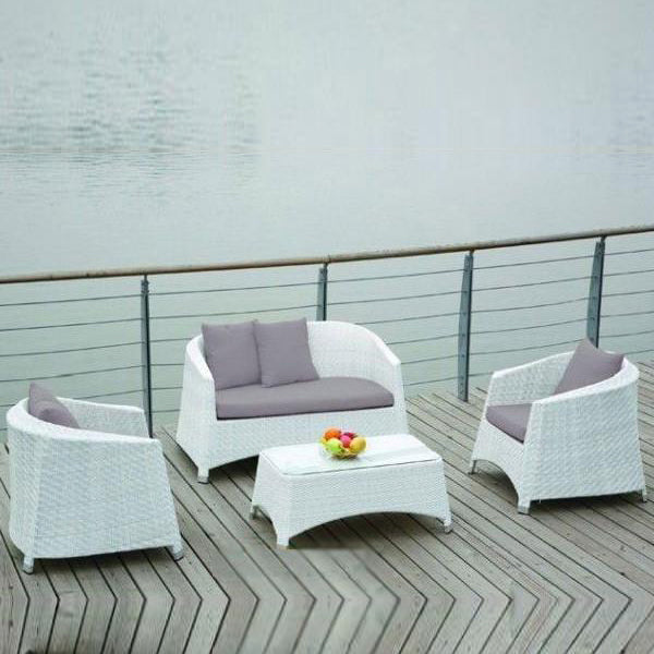 Outdoor Furniture - Wicker Sofa - Atlantis