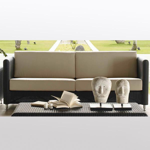 Outdoor Wicker Sofa - Fluid