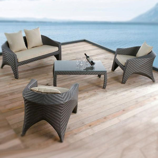 Outdoor Wicker Sofa - Pacific